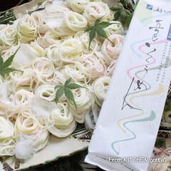 ひまわり/お花/お見舞い/メッセージ嬉しかったです/ありがとうございます/ばろんちゃん/... 五色そうめん🎐とお礼🙇♀️🙇🙇♂️ …(1枚目)