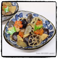 練習/おせち料理/和食器好き/美濃焼/和食器/筑前煮/... 筑前煮🇯🇵  おはようございます🤗…