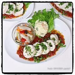 レンチン/レンチンレシピ/鶏むね肉ロール/よつ葉レストラン/よつ葉/つくれぽ企画/... レンジで!鶏むね肉の北海道♪チーズロール…