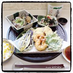 昭和 おいしく揚がる魔法の天ぷら粉 昭和産業(天ぷら粉)を使ったクチコミ「恥ずかしながら、海老天婦羅に🦞初挑戦💦…」