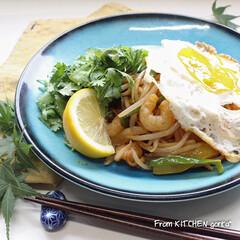 簡単レシピ/アジア料理/インドネシア料理/エスニック料理/ミーゴレン/トルコ貫入/... バーミキュラフライパンで作る🍳ミーゴレン…(1枚目)