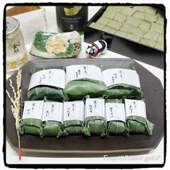 ありがとうございます/高知名産品/柿の葉寿司/笹蒸し寿司/関西おだし/マダムブリュレ/... 年末年始に届いた♬素敵便✨  今日の…