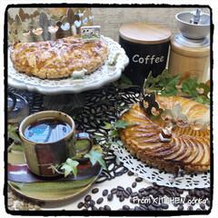 フランス菓子/コーヒー焙煎機/おうちロースタリー/おうちカフェ/コーヒーにある暮らし/akatiti/... The Roastで淹れる♬ケニア🇰🇪•…