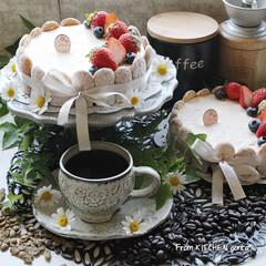 ネクストフーディスト4期生/ネクストフーディスト/コーヒー好きな人と繋がりたい/お菓子作り好きな人と繋がりたい/レアチーズケーキ/お菓子作り/... レアチーズケーキ🎂とThe Roastで…(1枚目)