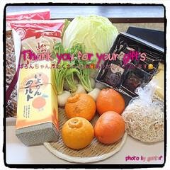 ありがとうございます💕/愛媛銘菓/お野菜いっぱい/フロランタン/シフォンケーキ/みんなのブログ/... 愛媛からのgift🎁便‼︎  おはよ…(5枚目)