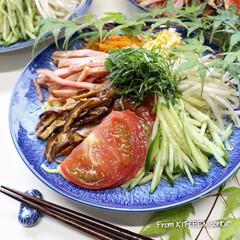 梅雨/AMEMIYA/冷やし中華/料理好きな人と繋がりたい/EATPICKレシピ/クックパッドレシピ/... 冷やし中華〜始めました♬  おはよう…(1枚目)