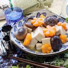 カメラ女子/料理写真を上手に撮りたい/瀬戸焼/和食器のある暮らし/食器好きな人と繋がりたい/料理好きな人と繋がりたい/... 高野豆腐のほっこり煮物♬  こんにち…(1枚目)