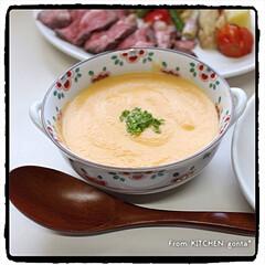 牛肉の塊/コストコ/和洋折衷/洋食器/和食器/キッチンポケットにrecipe掲載中/... ローストビーフ🐄with野菜グリル🍅 …(3枚目)