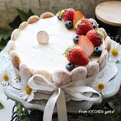 ネクストフーディスト4期生/ネクストフーディスト/コーヒー好きな人と繋がりたい/お菓子作り好きな人と繋がりたい/レアチーズケーキ/お菓子作り/... レアチーズケーキ🎂とThe Roastで…(2枚目)