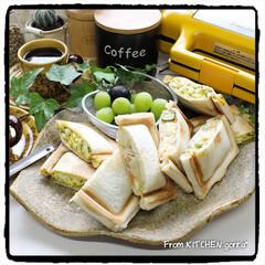 珈琲焙煎機/コーヒーのある暮らし/コーヒー焙煎機/たまごサンド/ポテトサラダ/ビタントニオ/... The Roastでいただく極上coff…(2枚目)