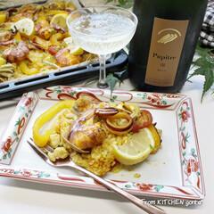 スペイン料理/本格レシピ/簡単レシピ/NE-BS2600/ビストロアンバサダー/ビストロ/... ちょこっと🤏リニューアル✨オーブン天板d…(1枚目)