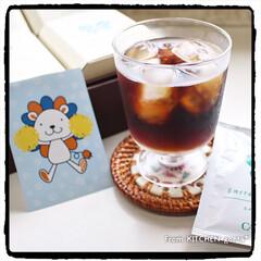 ありがとうございました/頂き物/贈り物/日本橋三越本店/コーヒーgift/コーヒー/... コロナに負けるなエール便📣  こんに…