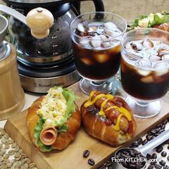 おうちカフェ/料理好きな人と繋がりたい/Russellhobbs/ラッセルホブス/コーヒーメーカー/アイスコーヒー/... Russell Hobbsで淹れるアイス…(1枚目)