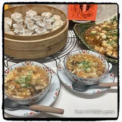 織部焼/たち吉/和食器好きな人と繋がりたい/和食器のある暮らし/料理好きな人と繋がりたい/中華三昧/... ザ★中華三昧‼︎  ございます🌞 …