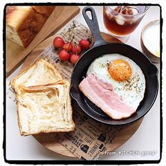 パナソニック/The Roast/ブリューコーヒー/ワンプレートごはん/朝ごはん/スキレット/... 京都 #アンデ 『デニッシュ食パン メー…