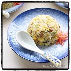 お昼ごはん/炒飯/チャーハン/15分/パパッと飯/ちゃちゃっと飯/... ちゃちゃっと飯‼︎我が家のチャーハン🇨🇳…(1枚目)