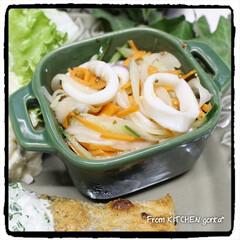 ストウブ/光泉窯/食器好きな人と繋がりたい/料理好きな人と繋がりたい/EATPICKレシピ/ポテトサラダ/... 鮭のチーズソテー🧀レモン香る🍋ヨーグ…(3枚目)