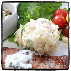 料理好きな人と繋がりたい/ヨーグルトソースかげはレモンが決めて🍋/NE-BS2600/自動調理モード/鮭のソテー/鮭のチーズソテー/... 鮭のチーズソテー🧀レモン香る🍋ヨーグルト…(3枚目)