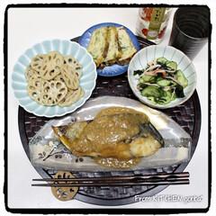 たまご焼き/料理好きな人と繋がりたい/和食器好きな人と繋がりたい/和食器のある暮らし/和御膳プレート/銅製卵焼き器/... とある日の和御膳プレート🥢  こんば…