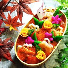 ちらし寿司弁当/ちらし寿司/お弁当/フォロー大歓迎 ちらし寿司弁当
