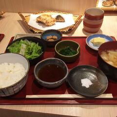 グルメ/ランチ/北新地/大阪/和食/1000円/... 会社の近く、北新地の楽心庵さんで天ぷらラ…