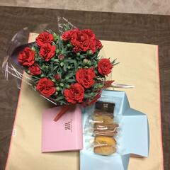 感謝/花のある暮らし/母の日 三人娘達から 母の日のプレゼントが 届き…