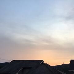 夕焼け/夕景 日没 19:07 今日も一日お疲れ様でし…