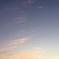 夕焼け雲/夕焼け 日没 19:16 今日も一日お疲れ様でし…(3枚目)
