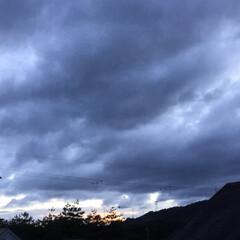 夕焼け/夕焼け大好き/夕暮れ風景 日没 18:53 今日も一日お疲れ様でし…