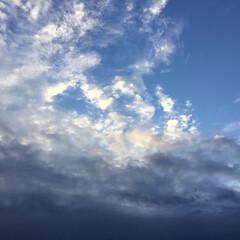 いま空/夕暮れ風景/夕焼け景色 日没 17:55 今日も一日お疲れ様でし…(2枚目)