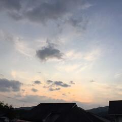 トワイライトタイム/定位置観察/いま空/今日の夕焼け/夕暮れ風景/夕焼け大好き 日没 19:01 今日も一日お疲れ様でし…(2枚目)