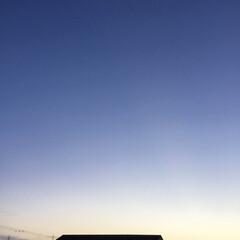 夕暮れ/夕焼け雲/夕焼け 日没   19:17 今日も一日お疲れ様…