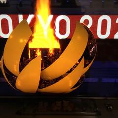 聖火点灯/開会式/Tokyo2020 待ちに待ったオリンピック 点灯までも長か…(2枚目)
