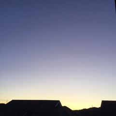 夕暮れ/夕焼け大好き 日没 19:11 今日も一日お疲れ様でし…