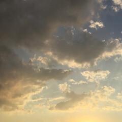 夕暮れ/夕焼け 日没 19:15 今日も一日お疲れ様でし…(2枚目)