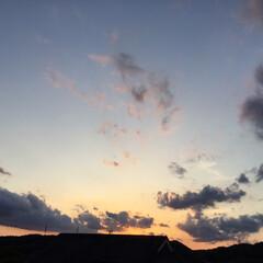 金星と月🌙/夕焼け景色/夕焼け大好き 本日の日没18:42 今日も一日お疲れ様…