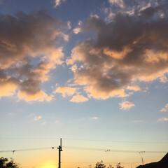 冬至/ピンクの雲/定位置観測/夕暮れ風景/夕焼け大好き/いま空/... 日没 16:52    冬至 今日も一日…
