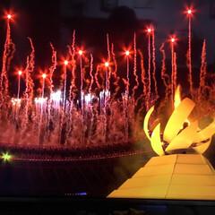 聖火点灯/開会式/Tokyo2020 待ちに待ったオリンピック 点灯までも長か…(1枚目)