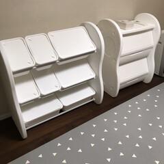 真っ白グッズ/真っ白収納/おもちゃ収納 「子供部屋の家具を真っ白にしたい!」とい…