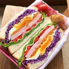 低糖質食パン/低糖質弁当/低糖質/ロカボダイエット/ロカボ/低糖質レシピ/... ・もりもりサンド  一本堂の低糖質食パン…
