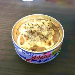 美味しい/ツナ缶/おつまみ/暮らし ツナ缶に、醤油・みりん・にんにくチューブ…