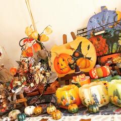 ハロウィン/halloween/ハロウィーン/ハンドメイド/雑貨/ダイソー/... 👻HAPPYHALLOWEEN🎃  木の…