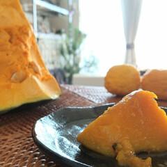 おうちごはん/冬至/柚子/かぼちゃ ♡かぼちゃ ♡柚子  昨日は冬至でしたね…