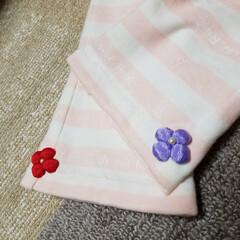 子供服/ベビー服/手作り/令和の一枚/フォロー大歓迎/LIMIAファンクラブ/... タオル地で部屋着パンツを作りました👶 シ…(3枚目)