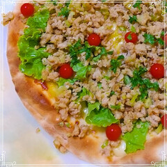 ピザ/おうちごはん/暮らし ♡おうちごはん ♡おうちピザ  いつも市…