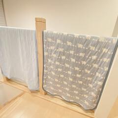 購入品/家事ラク/便利/洗濯/敷きパッド/雑貨/... 敷きパッドの洗濯事情。  普段は洗濯物を…