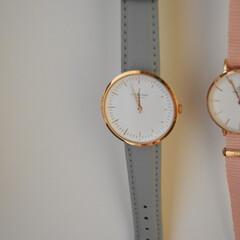 腕時計好き/腕時計収納/100均/節約/ダイソー/簡単/... もちろん小さめ円盤の腕時計も好き❤︎  …