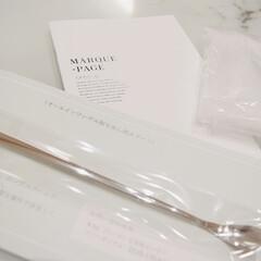 MARQUE-PAGE マルクパージュ クレンジング・洗顔・美容保湿ゲル 3セット | MARQUE-PAGE(スキンケアトライアルセット)を使ったクチコミ「大好きなマルクパージュが届いた❤︎  ☑…」(2枚目)