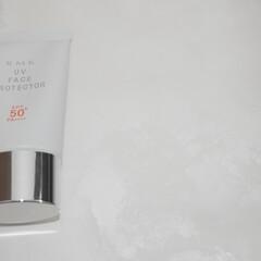 RMK UVフェイスプロテクター50(その他日焼け止め)を使ったクチコミ「顔と首用の日焼け止めはRMKのもの!  …」
