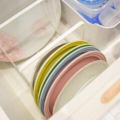 お皿収納/お気に入りアイテム/リミとも部/ディッシュラック/棚/キッチン/... \お気に入りのディッシュラック/  我が…